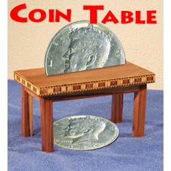 Coin Table by Kant Magic