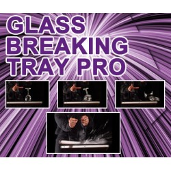 GLASS BREAKING TRAY PRO (TRAY AND DVD)